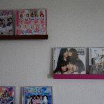 インテリアとしてCDを美しくお手軽に飾る方法【一人暮らしアパート】