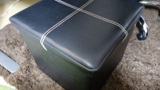 イス使用時の足置き兼収納に使えるボックスがはかどり過ぎてやばい
